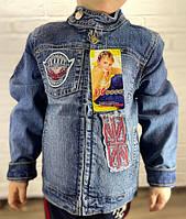 Пиджак джинсовый подростковый  60121 ОПТ