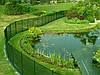 Ограждение для пруда, искусственного водоема и бассейна