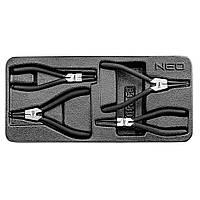 Щипцы для стопорных колец набор 4 шт. NEO TOOLS 84-240, фото 1
