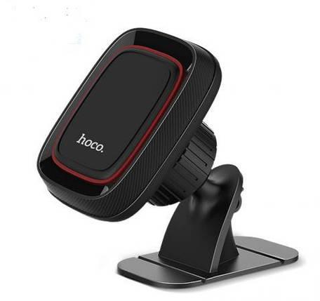 Автодержатель для телефону Holder HOCO CA24 (magnetic) Black, фото 2