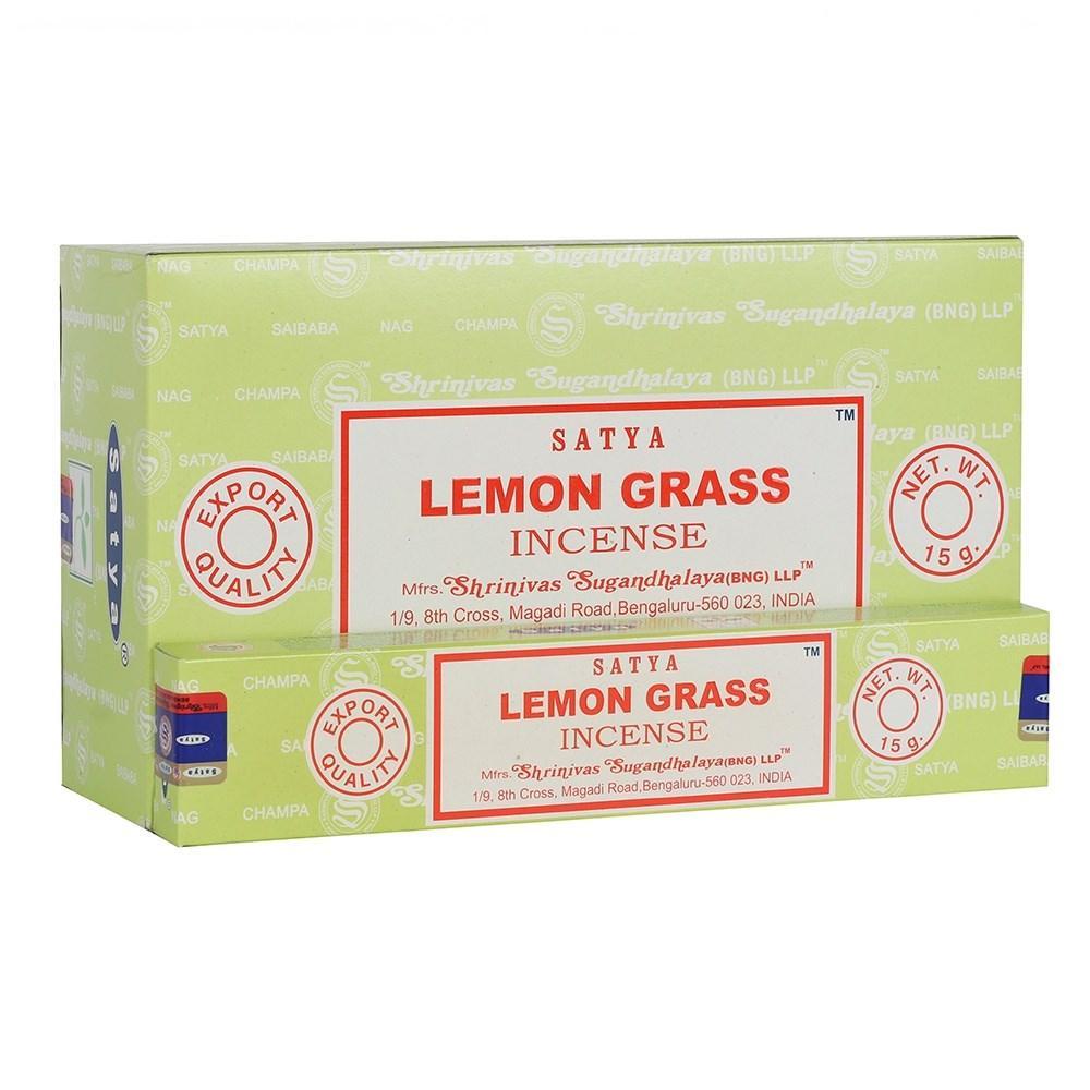 Благовония Satya Лемонграсс, 15 грамм