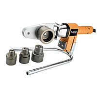Трубосварочная машина для сварки полимерных труб 650 Вт 4 сварочные втулки NEO TOOLS 21-001, фото 1