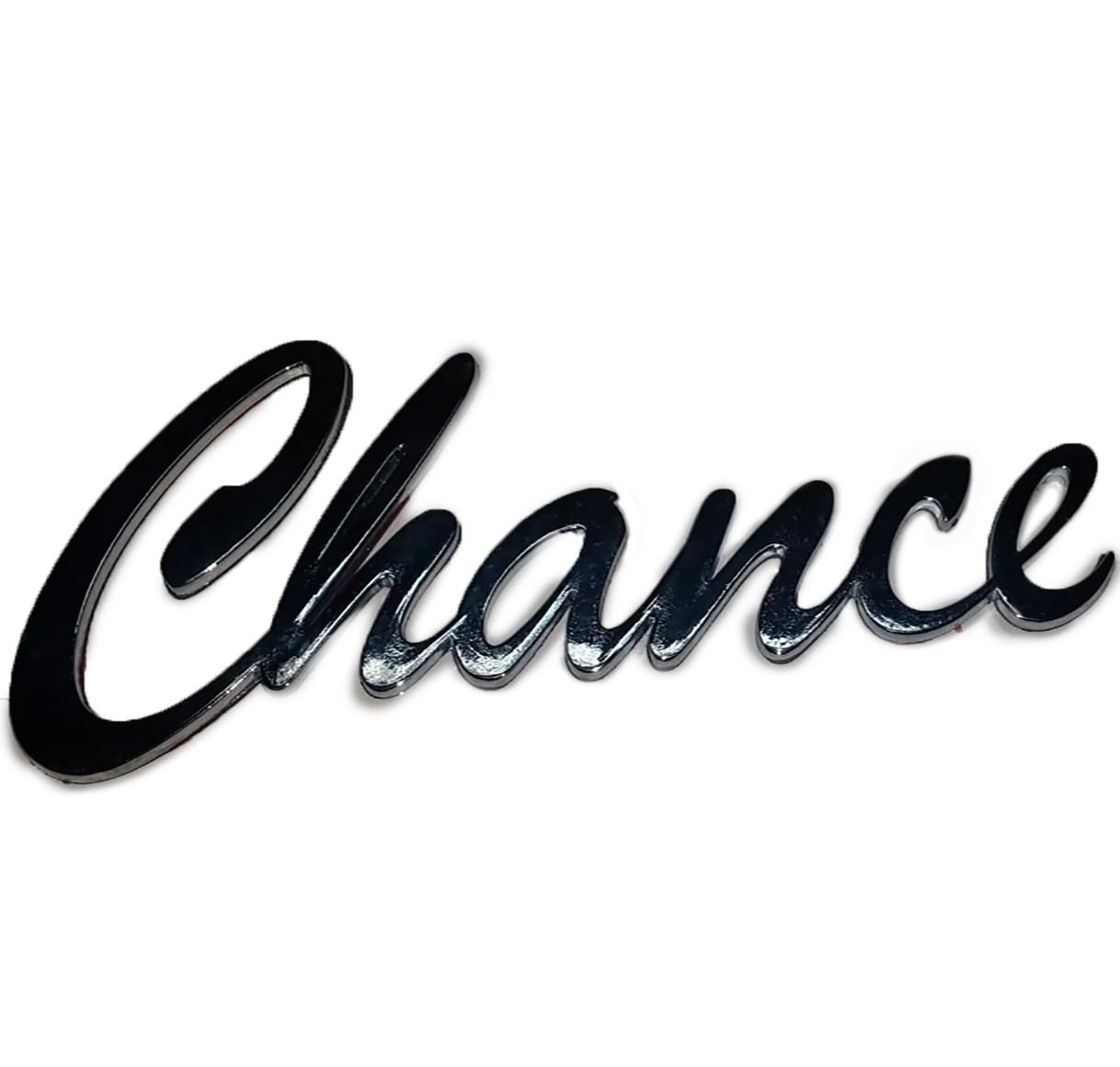 """Напис задня """"Chance"""", TF69yo-8212220"""