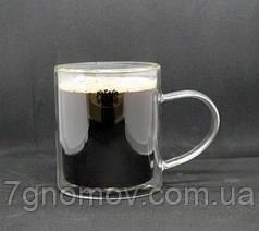 Кружка из двойного стекла Чай 375 мл
