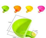 Соусница с клипсой на тарелку 7.5см*7см*4см, фото 4