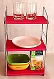 Полиці для кухні настільні 3 яруси 43*25*17см, фото 2
