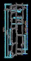 Стальная водопроводная лестница