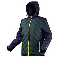 Куртка Softshell со стеганой вставкой PREMIUM размер L NEO TOOLS 81-559-L, фото 1
