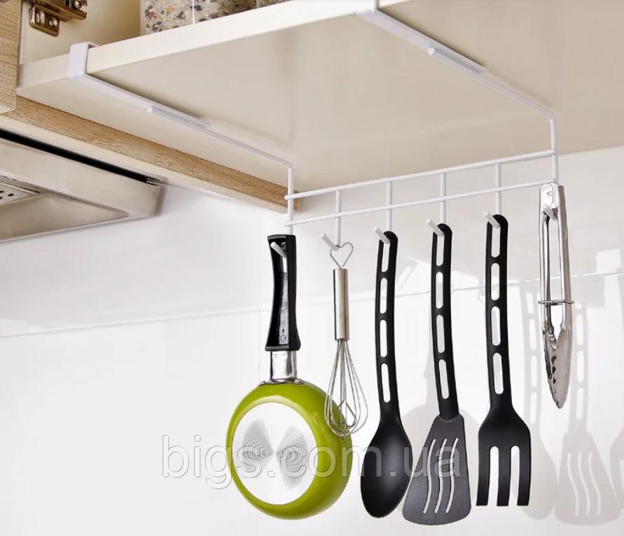 Держатель- крючки для кухонных предметов 27 см