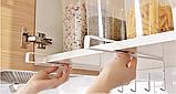 Держатель- крючки для кухонных предметов 27 см, фото 2