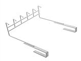 Держатель- крючки для кухонных предметов 27 см, фото 3