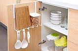 Держатель- крючки для кухонных предметов 27 см, фото 4