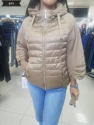 Стильная женская куртка весна/осень BATTER FLEI, премиум качества