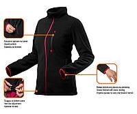 Флисовая блуза женская черный размер XL NEO TOOLS 80-500-XL, фото 1