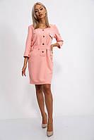 Платье 102R079 цвет Персиковый