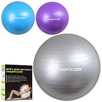 Мяч для фитнеса Фитбол PROFI 65см