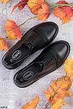 Женские туфли черные со стразами эко кожа, фото 2