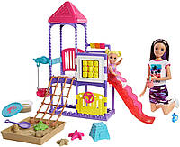 "Набор Барби Скиппер няня ""Игровая площадка"" (GHV89) Barbie Skipper Babysitters, фото 1"