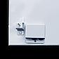 Металлокерамическая панель UDEN-S 500D со шнуром и вилкой, обогреватель инфракрасный настенный 975х350х15 мм, фото 4