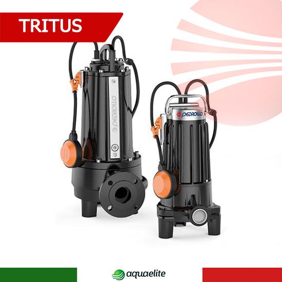 Фекальный насос с режущим механизмом Pedrollo TRITUS TRm 1.5