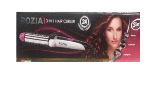 Электрическая расческа плойка для выравнивания волос и создания локонов Rozia HR7330