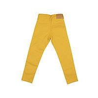 Детские брюки для мальчика, желтые, размер 116,122,128,134,140см,возраст 6,7,8,9,10 лет.