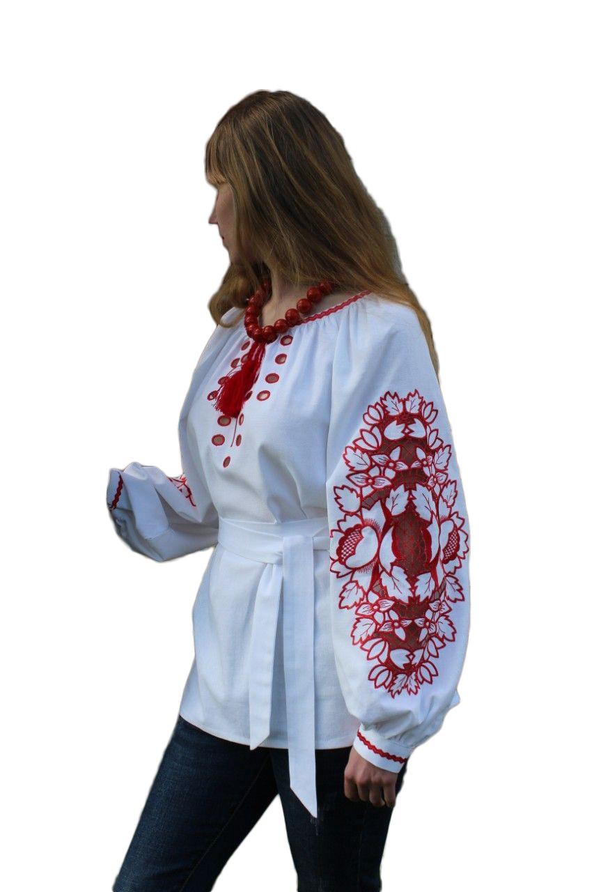 """Женская вышитая рубашка """"Аделайн"""" BD-0006"""