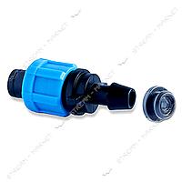 Фитинг стартовый с резинкой SL-001 SP для ленты d17 150шт Предназначение: Для капельной ленты