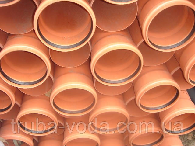 Труба пвх наружной канализации d110Х2000 2,5 мм