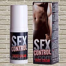 """Гель стимулирующий для улучшения эрекции """"Sex control WARMING gel"""" от RUF 30 мл. (Франция)"""