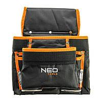 Карман для инструмента 8 гнезд металлические петли NEO TOOLS 84-334
