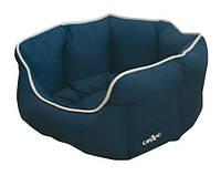 Диван для животного CROCI Glam, синий/светло синий, 60х50х20см *