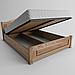 Кровать деревянная Венеция с подъемным механизмом (массив ясеня), фото 2