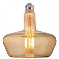 Світлодіодна ретро лампа Filament 8w 2200K E27 Ginza-8XL Horoz Electric
