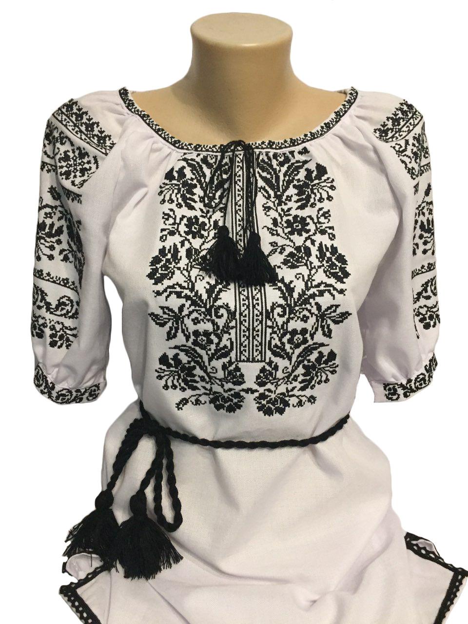 "Женская вышитая рубашка ""Ейпріл"" BT-0016"