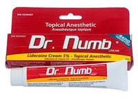 Крем анестетик для кожи Dr. Numb Original 30мл. Лидокаина 5% Прилокаин 5% Эпинефрин 0,1% (Видео)