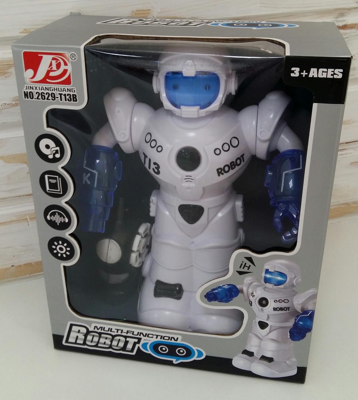 Робот 2629-T13B звук,свет,здит.танцует