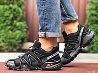 Чоловічі кросівки Salomon Speedcross 3 чорні, фото 1