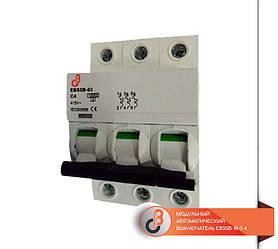 Модульный автоматический выключатель EBS5B-10-3-4