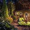 Садовый светильник Факел [Flame Light] с имитацией огня ---> на солнечной батарее --->водонепроницаемый, фото 2