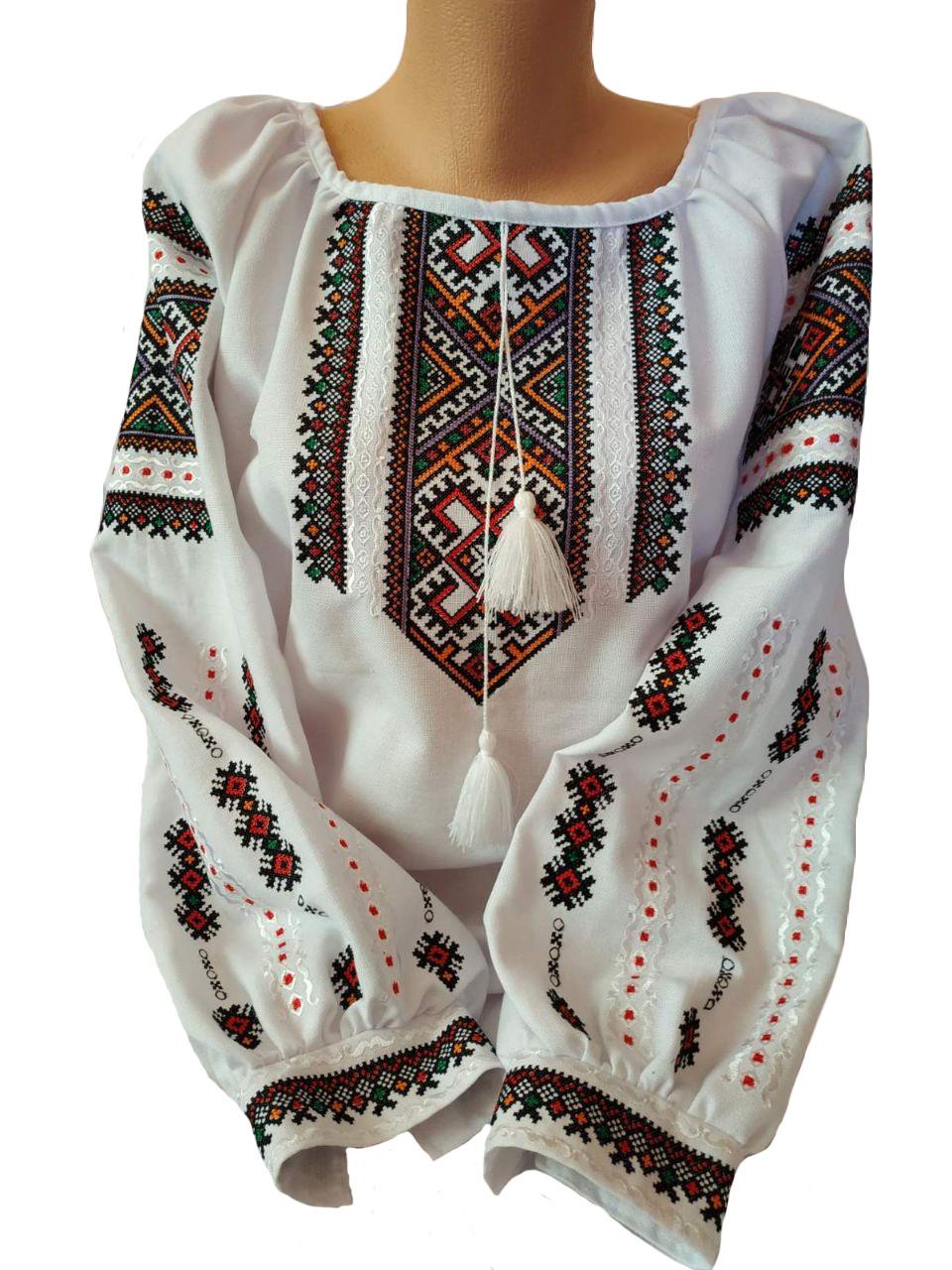 """Женская вышитая рубашка """"Синтия"""" BT-0025"""
