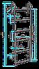 Стальная теплосетевая лестница