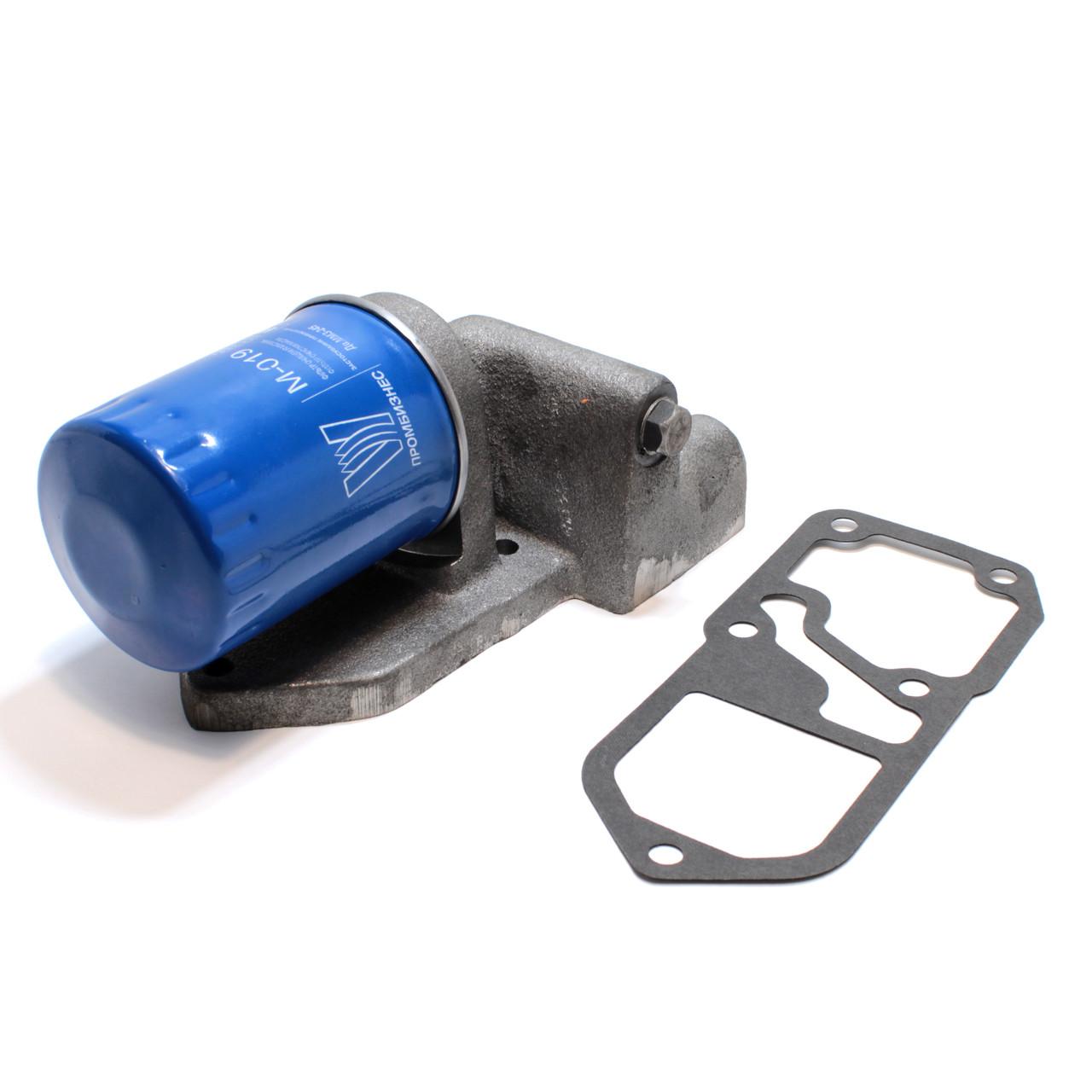 Комплект для установки масляного фильтра ЮМЗ Д-65 вместо центрифуги ФМ-009