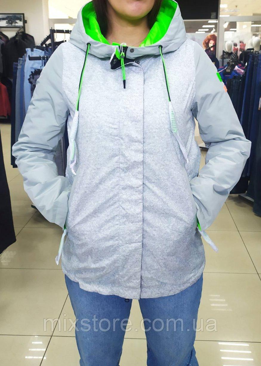 Стильная женская куртка весна/осень TOWMY, премиум качества