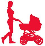 Прогулочные коляски, манежи