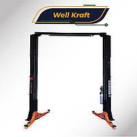 Подъемник двухстоечный Well Kraft 3140 ASY M (220В)