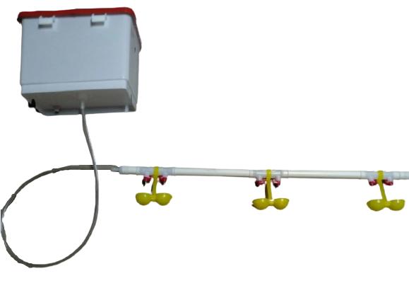 Комплект напувалок ніпельного на 40 голів з бачком Н-Т VDP-11