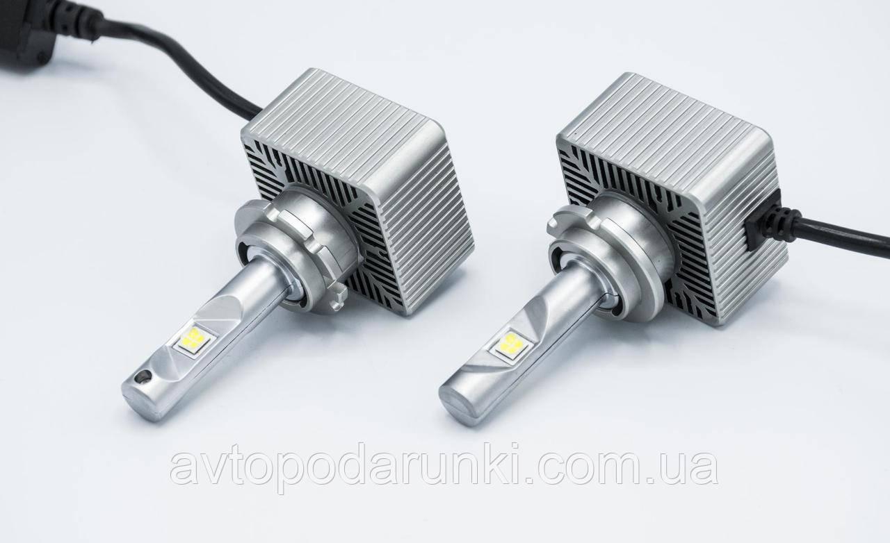 Автомобильные светодиодные LED лампы D-ALL  HIGH QUALITY 72Вт 7600Лм 6000К 12v Цоколь D1S D2S D3S D4S