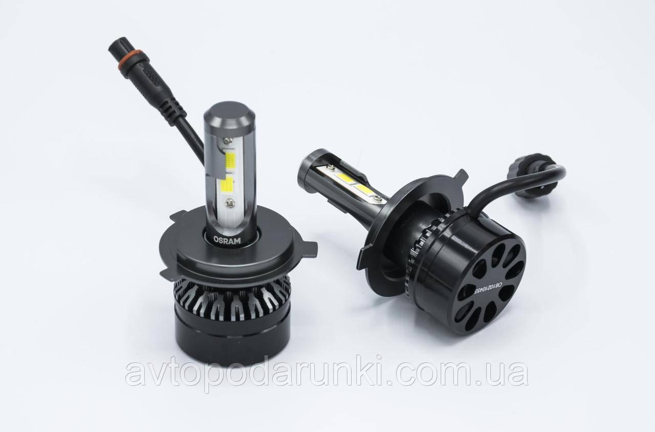 Автомобильные светодиодные LED лампы OSRAM  (65204CW) 50Вт 6000Лм 6500К 12v Цоколь H4