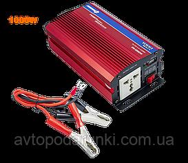 Преобразователь напряжения 12V-220V, инвертор  автомобильный, преобразователь электрического тока ( мощность